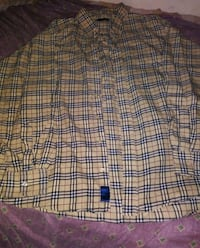 burberry shirt and jacket
