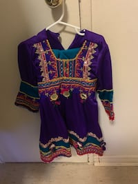Selling brand new never been worn little girl afghani clothes Toronto, M1G 1R9