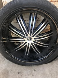 24in rims and tires  Columbia, 29210