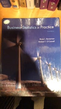 business statistics in   practice Cabin John, 20818