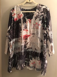 Priced to sell plus size 18/20 sparkly blouse from Lane Bryant.