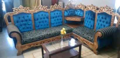 Custom made sectional sofa/delivery available