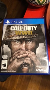 Sony PS4 Call of Duty WWII case Montréal, H3C 1G8