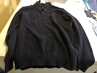 black and gray striped sweater Stockton, 95209