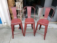 3 industrial counter stools San Leandro, 94579
