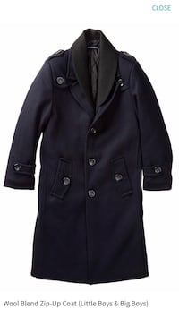 Boys (kids) long wool coat ISAAC MIZRAHI Oakville, L6M 1L4