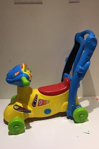 Ride along toy