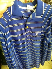 blue and white striped polo shirt Spring Valley, 91977