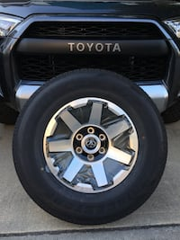 Toyota 4Runner TRD Off Road wheels with tires Surrey, V3S 1R8