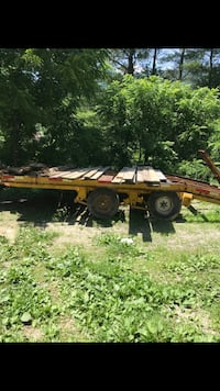 brown wooden flatbed trailer Princeton, 24740