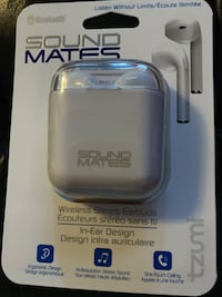 BRAND NEW SOUND MATES WIRELESS STEREO EARBUDS Guelph, N1G 5A9
