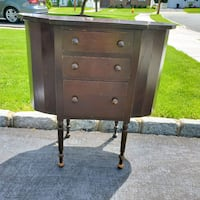 Antique Sewing Cabinet  Clifton, 07012