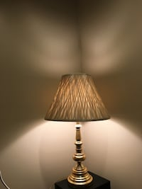 """Brass and BAMBOO SHADE 30""""  lamp La Puente, 91746"""