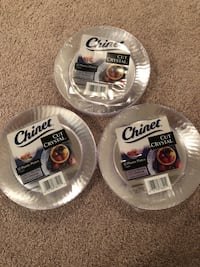 3 packs Chinet 7in plates x 12 ct Silver Spring, 20905