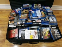 Suitcase full of movies