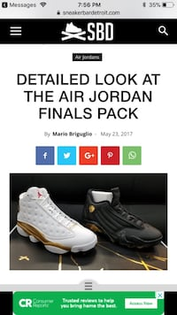 Air Jordan Final Pack Mississauga, L5V 1P3