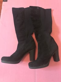 Long black soft boots 6239 km