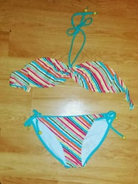 Stripped Colourful Bikini Winnipeg, R3B 2X2