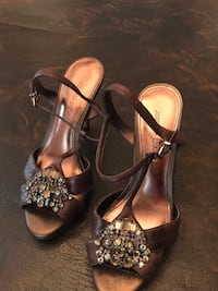 Bejeweled Copper Brown Antonio Melani 8.5 Little River, 29566