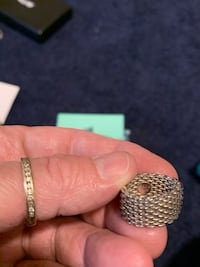 Tiffany & Co mesh ring size 4 Rockland, 02370