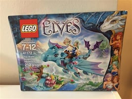 Lego Elves The Water Dragon Adventure #41172 new