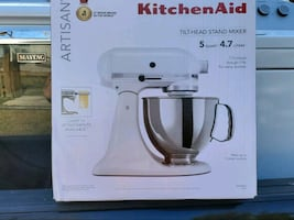 ●》Kitchenaid High End Artisan Mixer