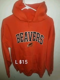 red and white Aeropostale pullover hoodie Salem, 97301