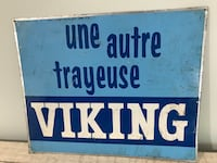 Antique Viking Sign farm Dairy Cow Signs Milker Vintage Trayeuse Ottawa, K0A 3H0