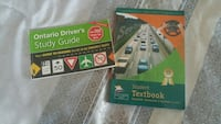 Students drivers book and text book with question Toronto, M3M 2M9