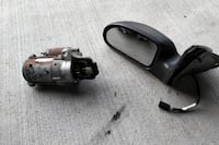 2005-2007 Ford Focus Mirror and Starter LONDON