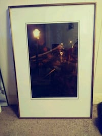 Civil war ghost picture with frame  Silver Springs, 34488