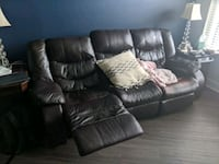 Electric reclining leather sofa Rockville, 20850