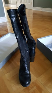 Women's leather boots Mississauga