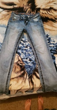 men's rock revival jeans Manassas, 20110