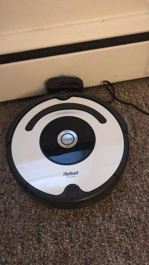 white and black iRobot Roomba for sale  Farmingville