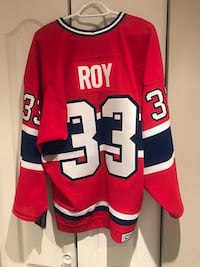Patrick Roy 1993 Stanley Cup jersey
