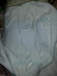 New born boys hand made outfit