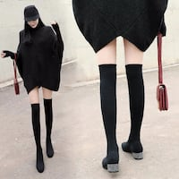 Over the knee socks boots San Francisco, 94158