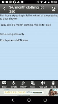 3-6 month baby boy clothing lot Toronto, M6N 4S2