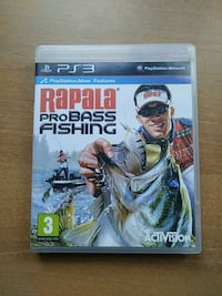 RAPALA PRO BASS FİSHİNG PS3 OYUN