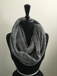 New grey eternity scarf  Oakville, T1Y