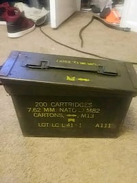 100% authentic  millitary ammo box from the 80's Durham, 27704