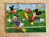 Disney's Mickey Mouse Clubhouse Collectible Puzzle in Tin  Ashburn, 20147