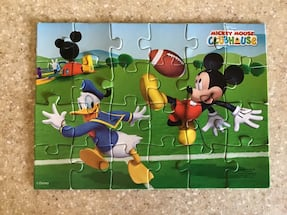 Disney's Mickey Mouse Clubhouse Collectible Puzzle in Tin