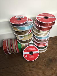 Ribbon from Michael's $2.00 each regular $5.99 London, N6B