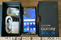 Galaxy S7 Edge Verizon + GSM UNLOCKED (Like-New)  Arlington