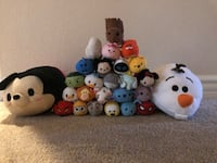 Tsum Tsums - 26 total - 2 big and 24 small. Henderson, 89012