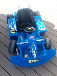 blue and black ride on toy car Gainesville