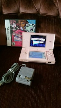 Pink Nintendo DS Lite with game cartridges Allentown, 18103