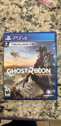 Sony PS4 Ghost Recon game case Bristow, 20136